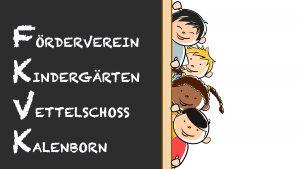 Kita Vettelschoss, Kindergarten Kalenborn Förderverein Logo