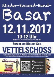 Vettelschoss Forum Basar 2017 Plakat